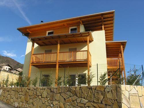 Dachstuhl Neubau Mehrfamilienhaus