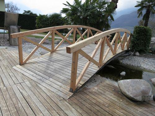 Brücke am Kalterer See