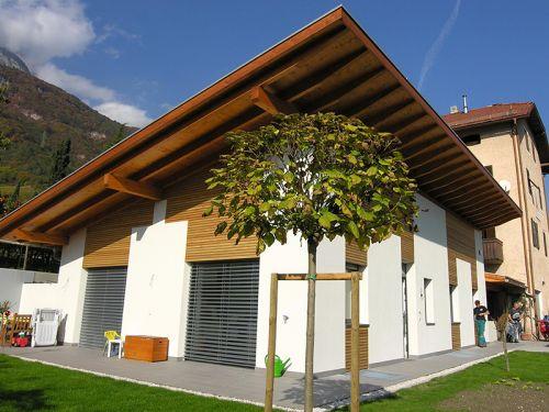 Dachstuhl, Wandverkleidung – Neubau Einfamilienhaus