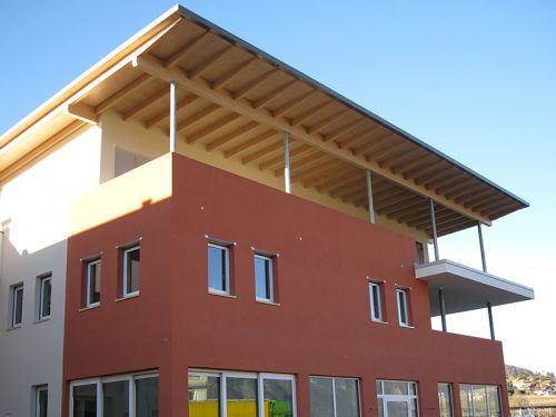 Neubau Betriebsgebäude  – Egetmannbistro