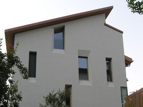 Dachstuhl Neubau privates Wohnhaus