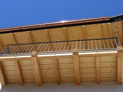 Umbau Wohnhaus – Dachstuhl und Balkone