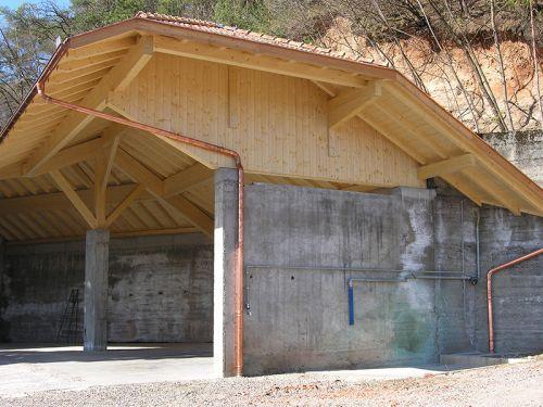 landwirtschafliche Gerätehalle